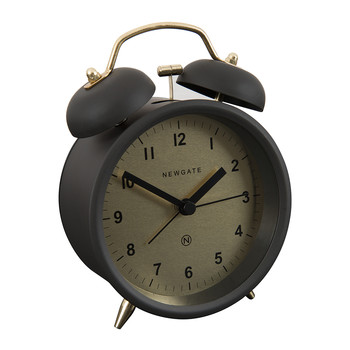 Charlie Bell Alarm Clock - Matt Gravity Gray