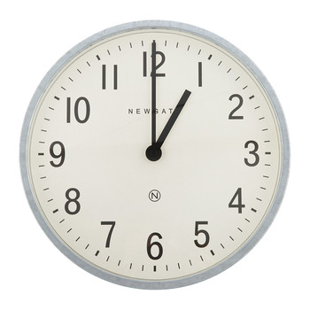 Master Edwards Wall Clock - Galvanised