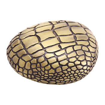 Crocodile Gold Paperweight