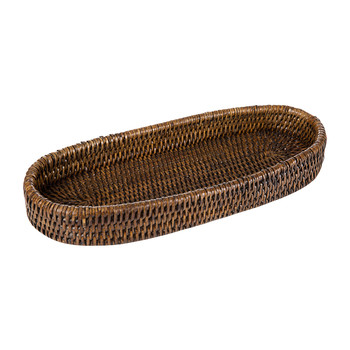 Cannes Basket Tray - Teak