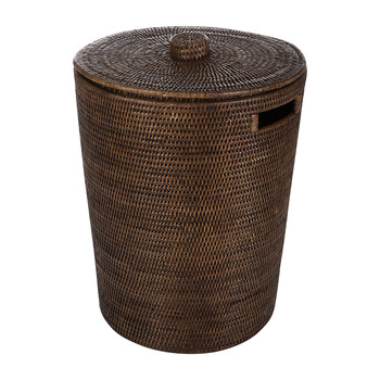 Rattan Laundry Basket - Natural