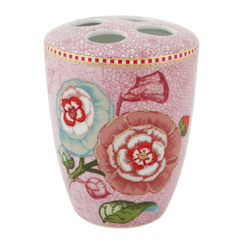 Spring To Life Toothbrush Holder - Pink