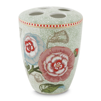 Spring To Life Toothbrush Holder - Celadon