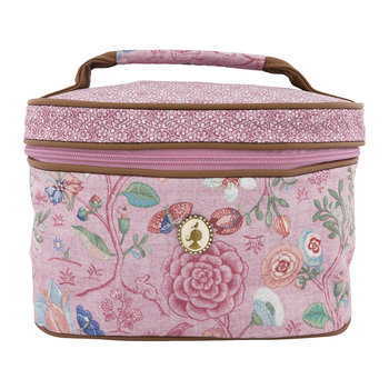 Spring To Life Large Beauty Case - Pink