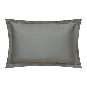 Demoiselle Graphite Oxford Pillowcase - Plain