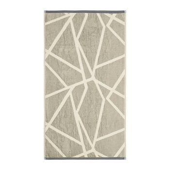 Sumi Towel - Natural & Orange
