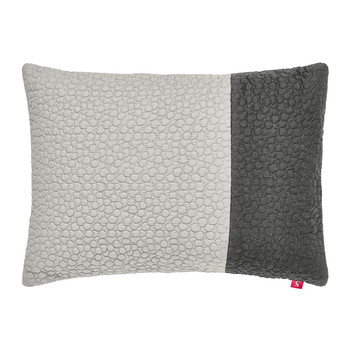 Gray Stitch Bed Pillow - 40x30cm