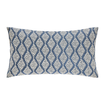 Rosa Indigo Bed Pillow - 30x50cm