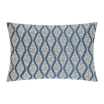 Rosa Indigo Bed Cushion - 30x50cm