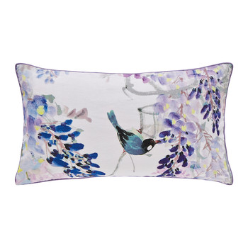 Wisteria Falls Lilac Bed Pillow - 30x50cm