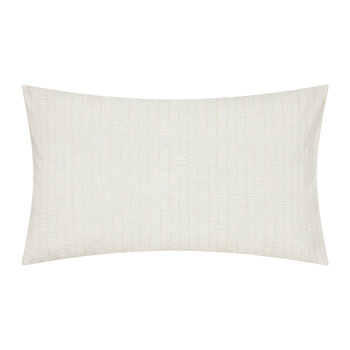 Tetra Hessian & Mint Pillowcase - Set of 2 - Housewife