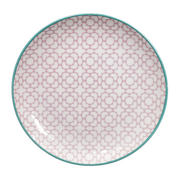 Geo Eclectic Plate - Medium - Purple