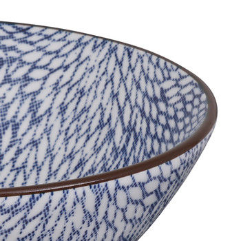 Kiku Blue Bowl
