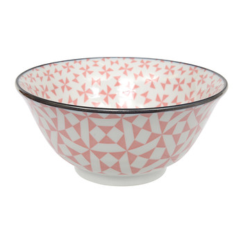 Geo Eclectic Tayo Bowl - Pink