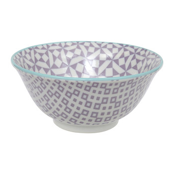 Geo Eclectic Tayo Bowl - Purple