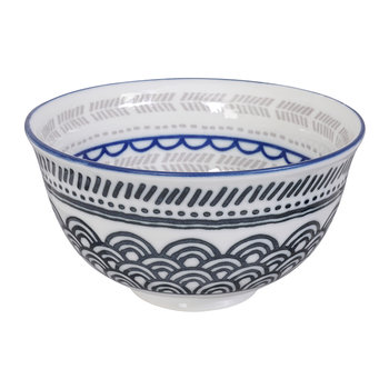Ethnic Bowl - Grey/Blue