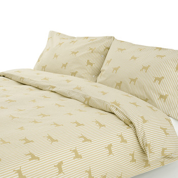 Labrador Cream Duvet Set