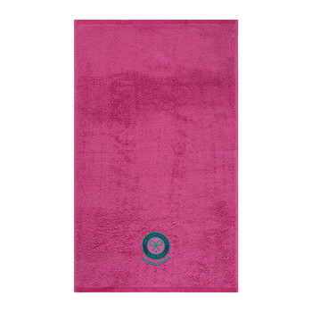 Embroidered Guest Towel - Pink