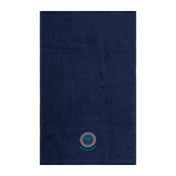 Embroidered Guest Towel - Midnight