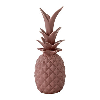 Decorative Pineapple Ornament - Rose