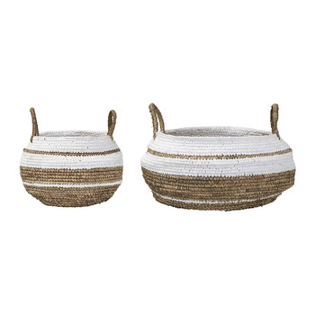Raffia Basket - Set of 2