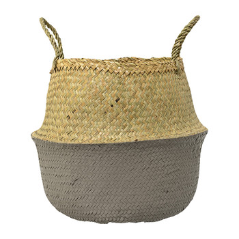Gray Seagrass Basket