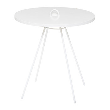 Chloe Side Table - White
