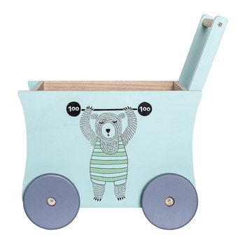 Children's Circus Push Wagon