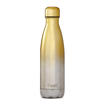 The Ombré Metallic Bottle - 0.5L - Yellow Gold