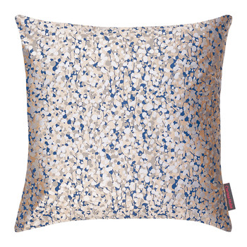 Garland Cushion - 45x45cm - Putty/Midnight/Silver
