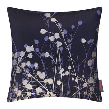 Mystras Cushion - 45x45cm - Ink/Gunmetal/Steel Blue