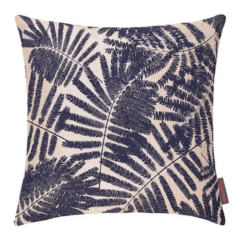 Espinillo Cushion - 45x45cm - Metallic Natural Linen/Ink