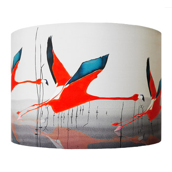 Orange Breaking Dawn Lamp Shade