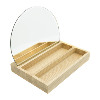 Allure Mirror with Tray