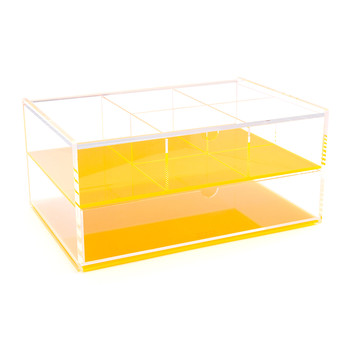 Flash Blocco Acrylic Box - Neon Orange