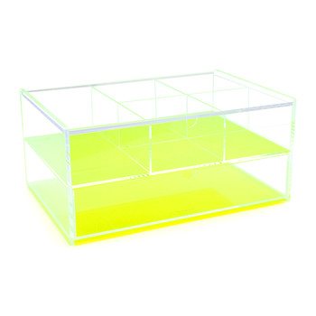 Flash Blocco Acrylic Box - Neon Green