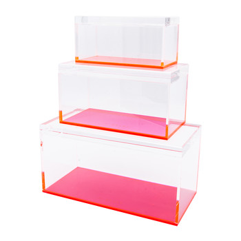 Flash Tidy Blocco - Set of 3 - Neon Pink