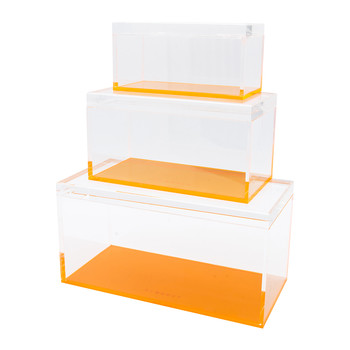 Flash Tidy Blocco - Set of 3 - Neon Orange