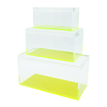 Flash Tidy Blocco - Set of 3 - Neon Green