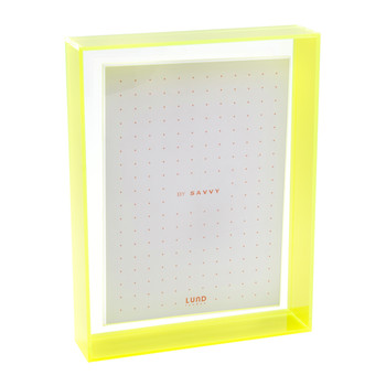 Flash Blocco Photo Frame - Neon Green