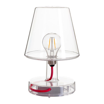 Trans-parent Table Lamp - Clear