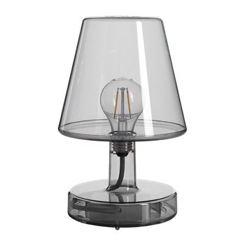 Trans-parent Table Lamp - Dark Grey