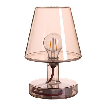Trans-parent Table Lamp - Bronze