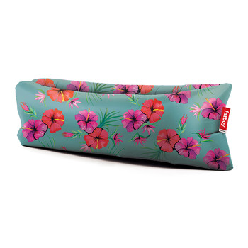 Lamzac Lounger 2.0 - Hawaiian Print - Blue