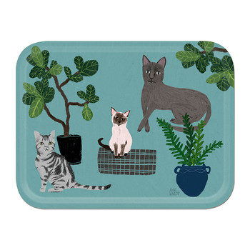 Anne Bentley - Cats Tray