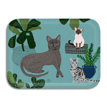 Annie Bentley - Cats Tray