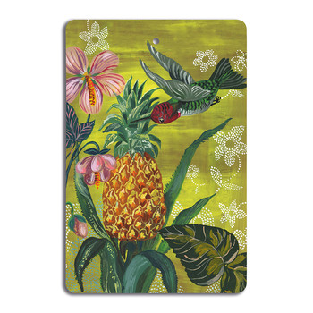 Nathalie Lété - Antique Cutting Board - Hummingbird
