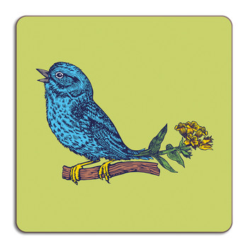 Puddin' Head - Bird Placemat - Sparrow