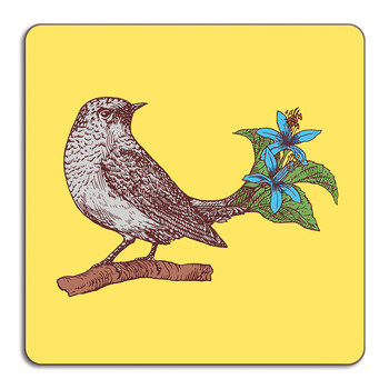 Puddin' Head - Bird Placemat - Pewee