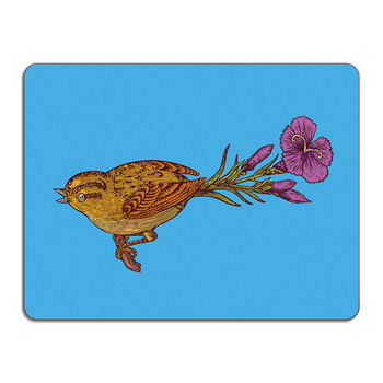 Puddin' Head - Bird Table Mat - Mr Bird